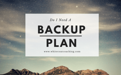 What if I don't match into an orthopedic residency? Make a backup plan.
