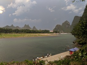 Storms are coming to Yangshuo