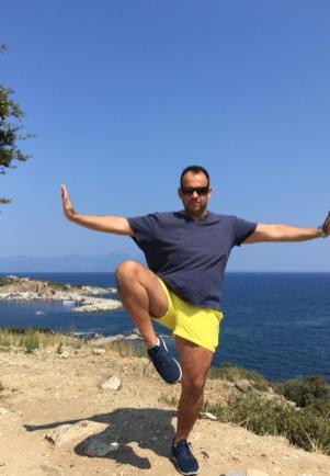Jim in Greece