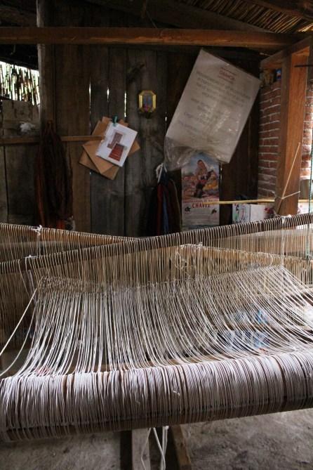 Porfiro Gutierrez's weaving atudio, Teotitlan