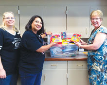 White Eagle Partners with Bright Futures Augusta for School Supply Drive