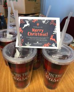 Dept of Aging - Holiday Cups