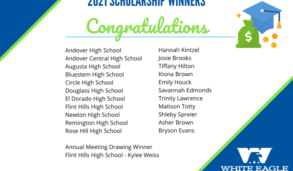 2021 Scholarship Winners