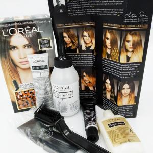 Краска крем для волос L'Oreal Hair Color Préférence Californianas темно коричневый
