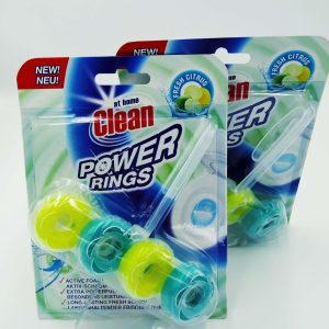 Туалетный блок At Home Clean Power Rings 40g Fresh Citrus
