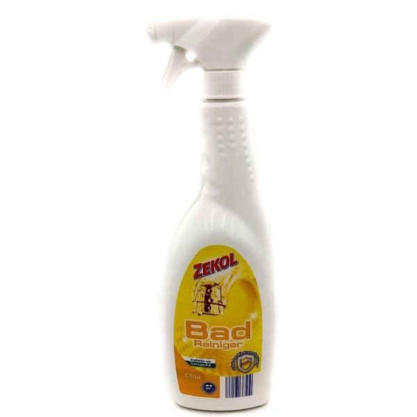 Средство для чистки ванных комнат Zekol цитрус/классика/розовый дождь 1л