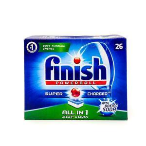 Таблетки для посудомоечной машины Finish 26 шт All In 1