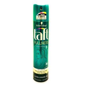 Лак для волос Taft 250 мл Fullness Ultra Strong 4