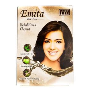 "Хна для волос Еmita ""Каштан"" 60 г"