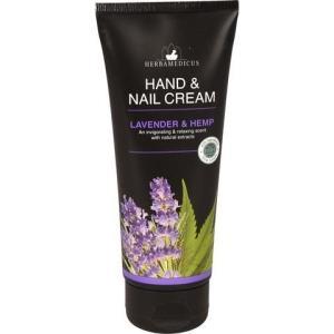 Крем для рук и ногтей Herbamedicus 100мл Lavender&Hemp