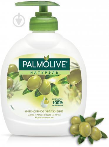 Жидкое мыло для рук 300мл с дозатором Palmolive Olive&Milk