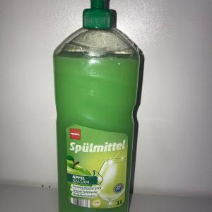 Средство для мытья посуды Spulmittel 1000 мл Penny (яблоко, лимон, океан)