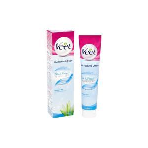 Крем для удаления волос Veet 200 мл Silk&Fresh Sensitive Skin