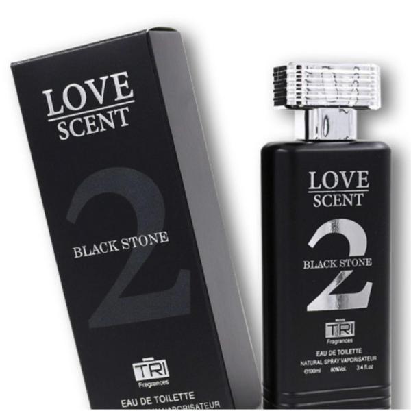 Туалетная вода мужская TRI / LOVE SCENT BLACK STONE EDT 100мл