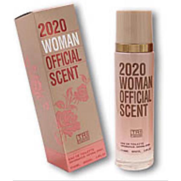Туалетная вода женская TRI / 2020 OFFICIAL SCEN WOMAN EDT 100мл