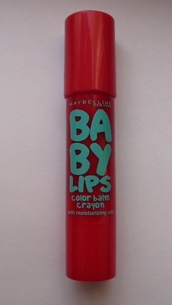 Бальзам для губ Maybelline 3грамм Babylips NO5 Candy Red