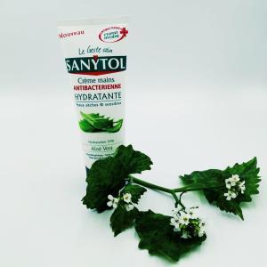 Крем для рук Sanytol 75 мл Антибактериальный Nourrissante питательный