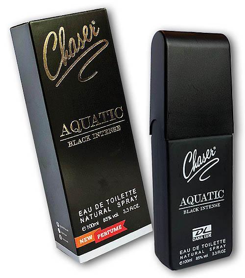 Туалетная вода мужская CHASER / AQUATIC BLACK INTENSE  EDT 100мл