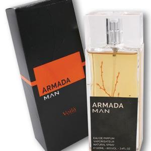 Туалетная вода мужская VIOLA/ ARMADA BLACK MAN EDP 100 мл