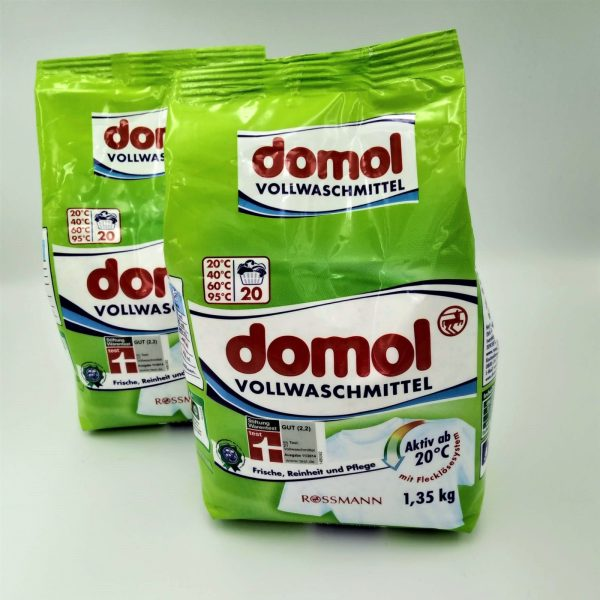 Порошок для стирки Domol  white/color 1,35 кг 20 стирок