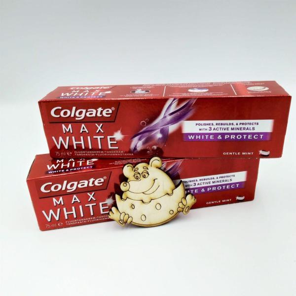 Зубная паста Colgate 100мл Max White&Protect