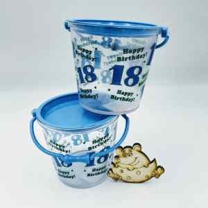 Ведёрко пластиковое для сладостей