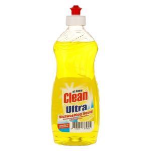 Жидкость для мытья посуды At Home Clean 500 мл Lemon