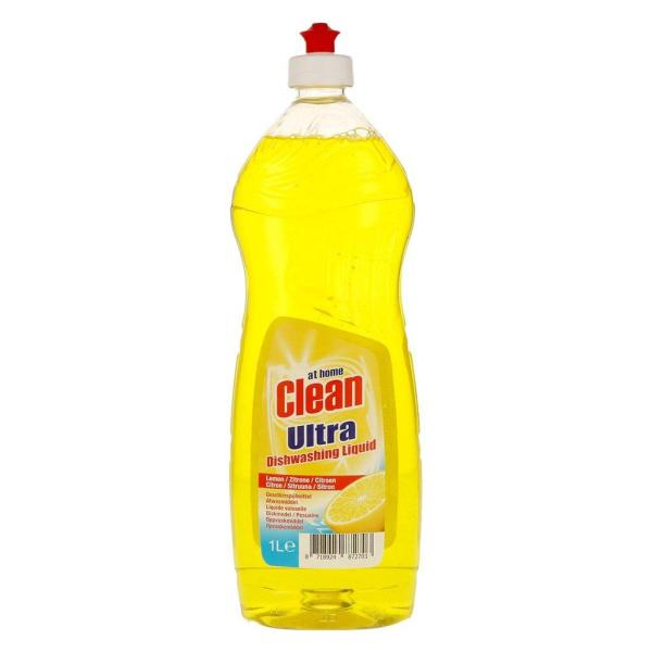 Жидкость для мытья посуды At Home Clean 1000 мл Lemon