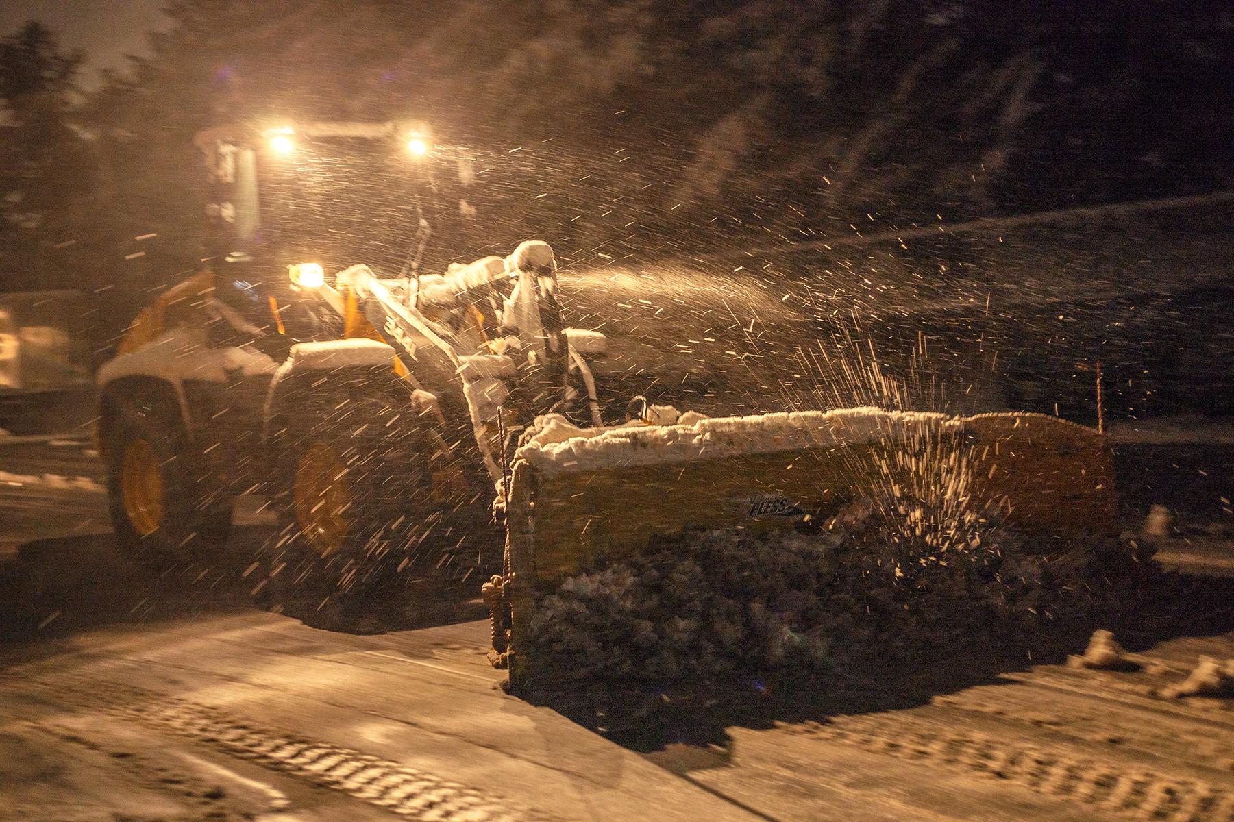 Commercial Plowing in Burlington Vermont