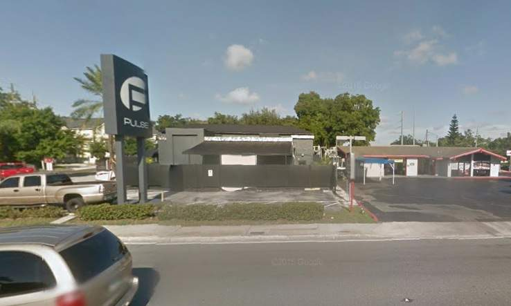 The Pulse night club, as seen from Google Maps.