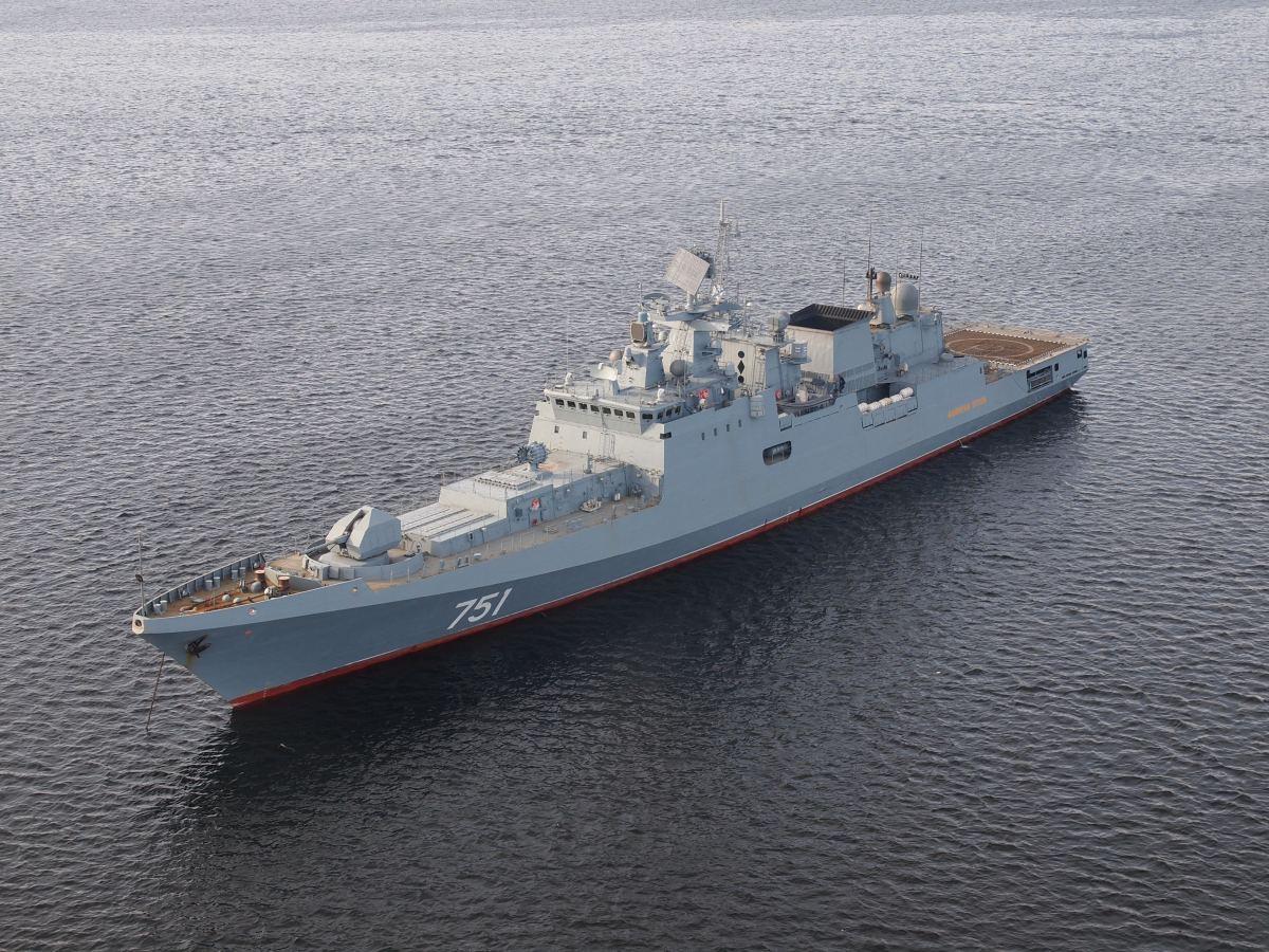 Admiral Grigorovich-class Frigates Bring Russian Black Sea Fleet into the 21st Century