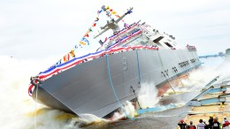 Freedom-class LCS launch