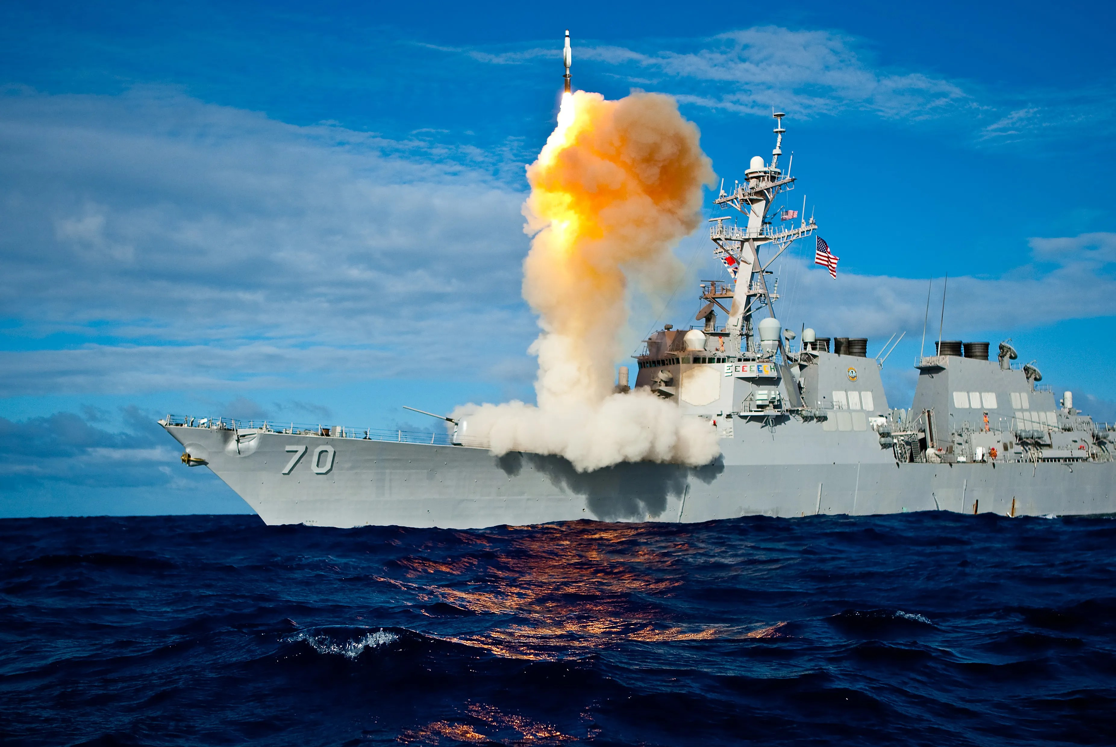 Stellar Avenger successful ballistic missile defense intercept.