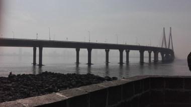 Worli Sea Link, think Dartford Bridge but longer