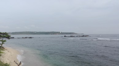 the view of Jungle Beach from Galle