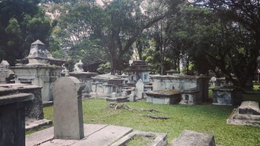 Protestant Cemetery - some very important people of Penang are buried within the grounds