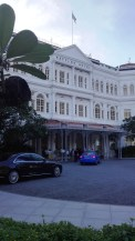 The famous Raffles Hotel, birth of the Singapore Sling