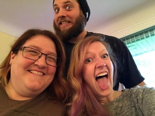 Mom, Ryan, & I – real family photo