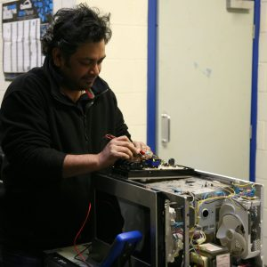 Distance Learning for Appliance Repair