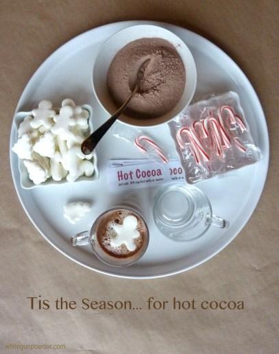 hot cocoa tray