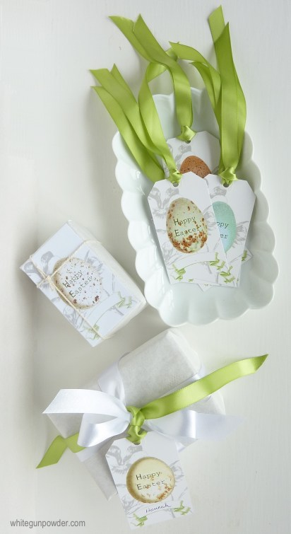 Easter egg gift tags & cards