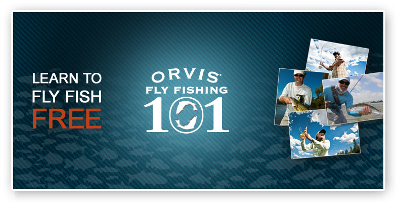 Orvis, fly fishing 101