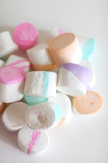 Party, diy multi-color marshmallows