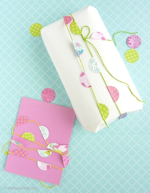 garland, wrapping idea