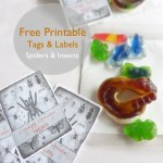 Free Tag/Label Printables, Spiders & Insects