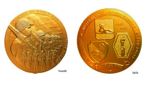 Veterans Day Congressional Gold Medal