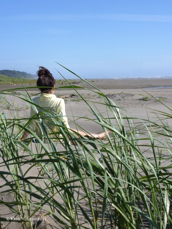 Summer, Sun, Sand, Salty Air at Seabrook, Washington