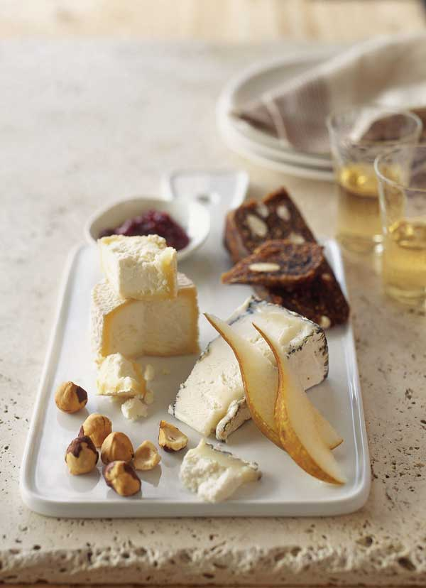 cheese platter, williams sonoma