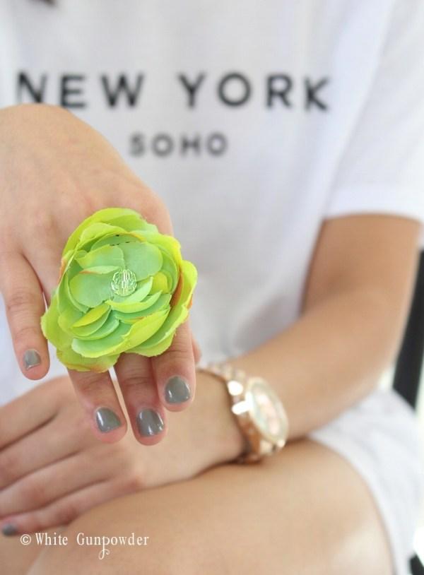 Flower ring tutorial