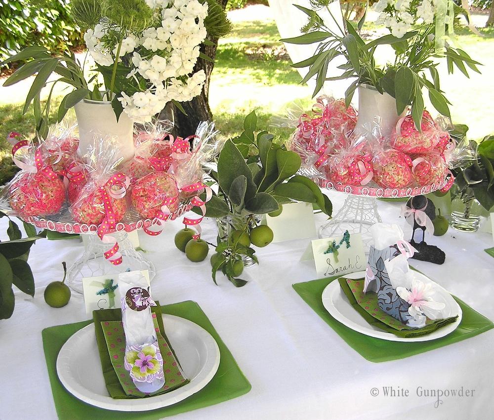 Garden birthday party white gunpowder garden birthday party izmirmasajfo